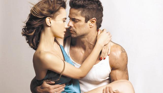 Celeste Cid y Luciano Castro protagonizan 'Sos mi hombre'.