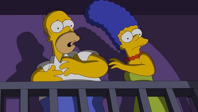 Una escena del capítulo 500 de Los Simpson (imagen gentileza Fox).