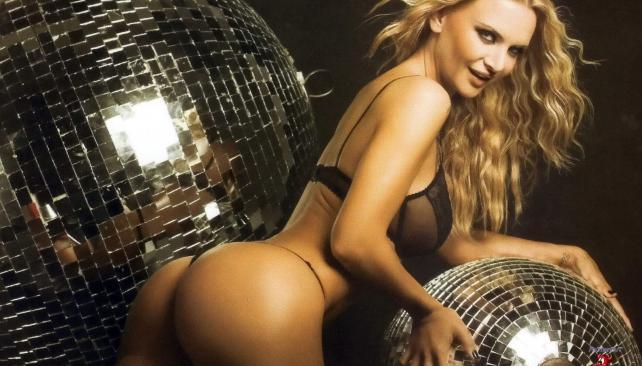 Amalia Granata posando para 'Maxim'