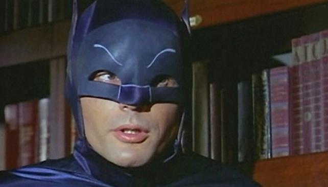 Adam West, el primer Batman de la pantalla chica.