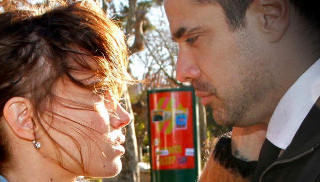 Celeste Cid y Luciano Castro, protagonistas de la serie.