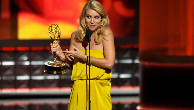 Claire Danes, actriz de la ganadora 'Homeland'