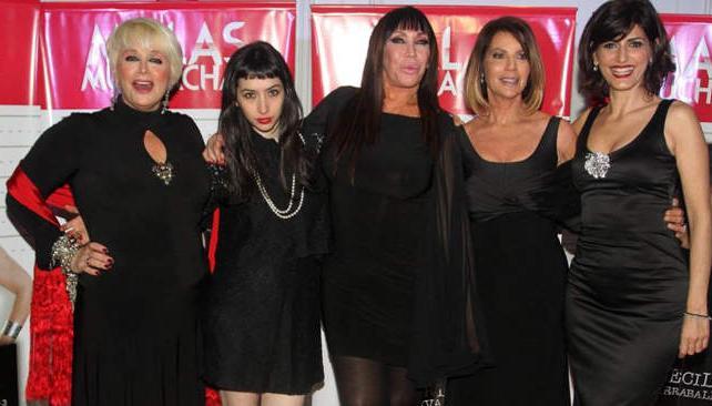 Cinco 'chicas malas' dispuestas a provocar. El debut tuvo algunos desbarranques.
