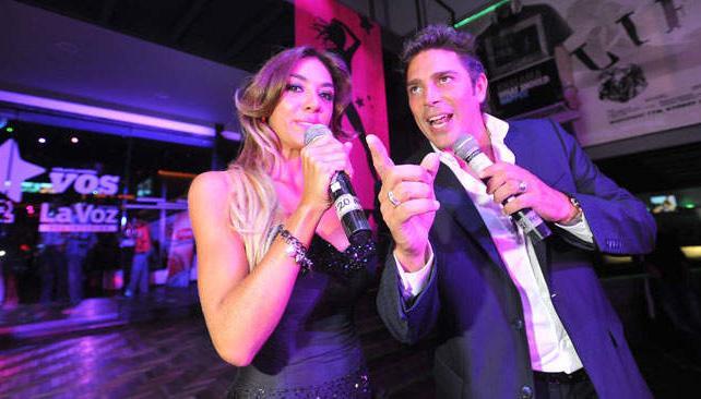 Floppy y Matías, cuando condujeron la fiesta de la Chica del Verano 2012 la temporada pasada. ¿Habrá comenzado allí la buena onda?
