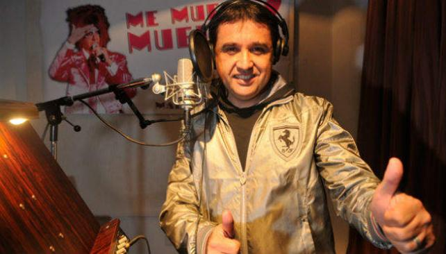 Mario Devalis, en el estudio de grabación.