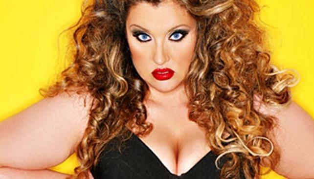 MILITANTE. Velvet D' Amour quiere que el mundo de la moda contemple talles XXL.