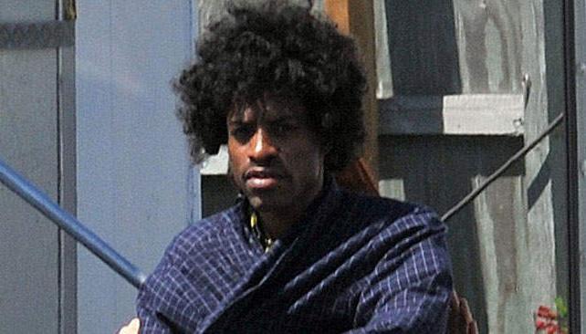 Andre 3000, muy parecido a Jimi Hendrix (imagen: dailymail.co.uk).