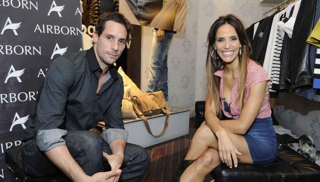 AMIGOS. Gonzalo Valenzuela y Maria Susini