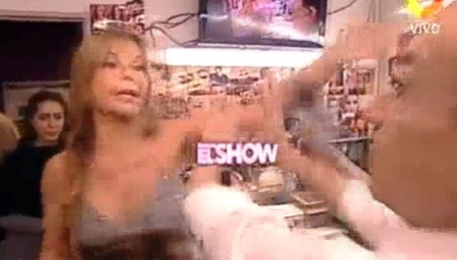 ALFANO VS. PACHANO, los jurados se fueron a las manos.