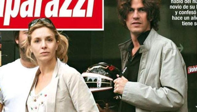 CARLA PETERSON Y MARTIN LOUSTEAU, sorprendidos juntos por revista Paparazzi.