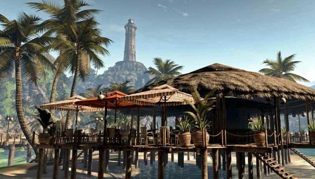 CRUDO Y SIN CENSURA. La isla de Banoi es un escenario sobrecogedor.