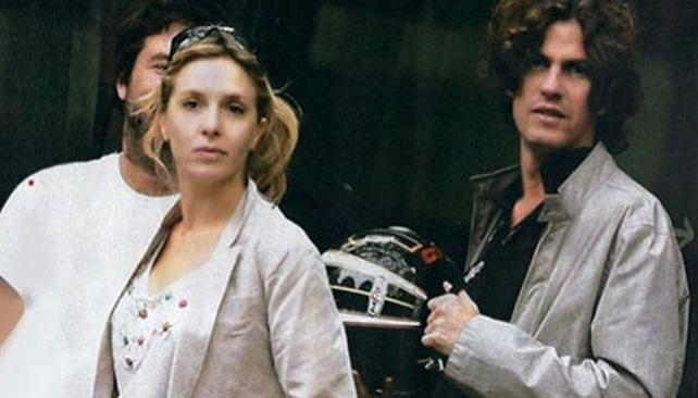 Carla Peterson y Martín Losteau fueron papás de un varón.