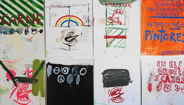 Dante Montich presentará en la sala de Estrada 54 una serie de trabajos en dibujo sobre papel.
