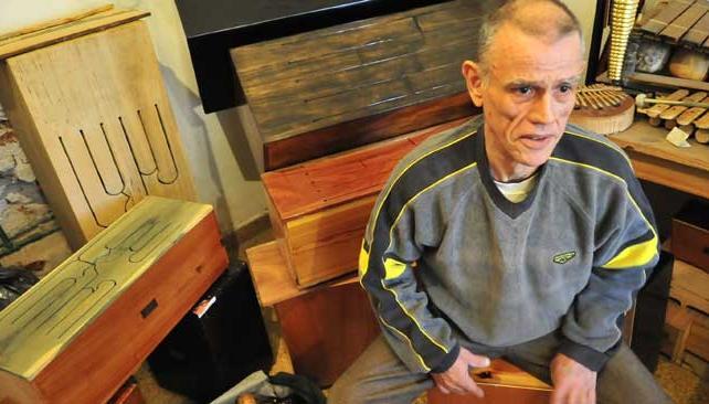 BAM BAM MIRANDA. El percusionista sufrió un ACV en el Teatro del Libertador.