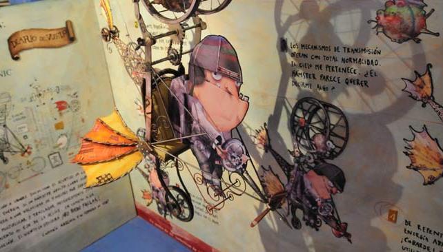 """""""Fábrica de Fantasías"""", muestra de Pablo Bernasconi en el Museo Barrilete."""