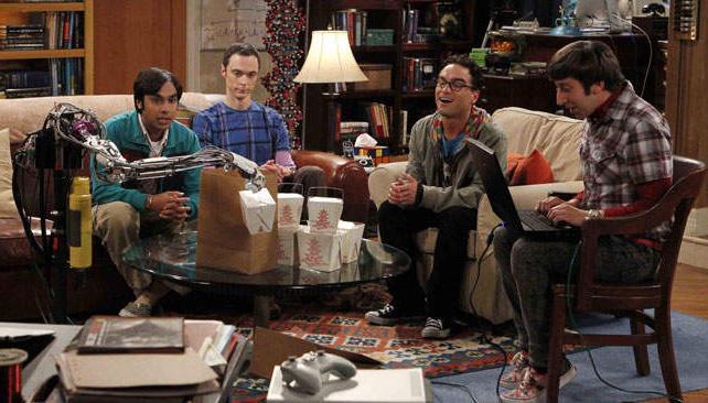 """Los amigos """"nerds"""" de The Big Bang theory son fieles exponentes –hasta la exageración– de cómo la tecnología puede formar parte de nuestras vidas."""