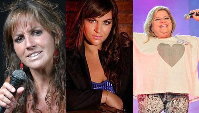 Silvia Lallana, Puli Moreno y Claudia Pirán. Tres casos bien distintos.