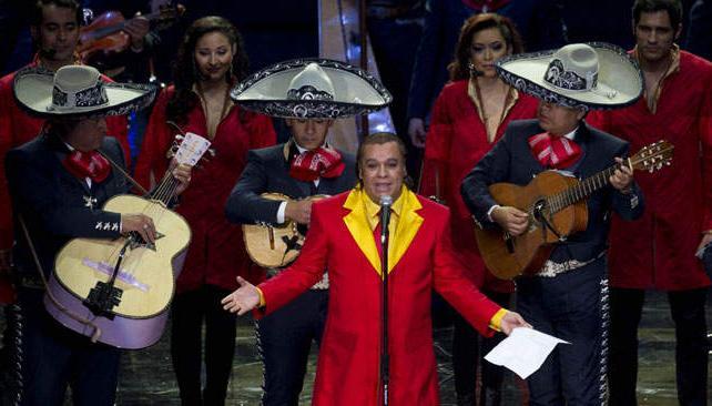 El cantante Juan Gabriel fue uno de los protagonistas.