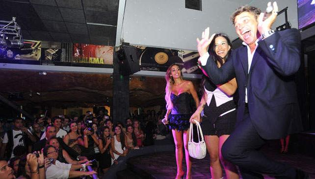 Matías Alé y Floppy Tesouro fueron conductores de lujo en la fiesta del lunes.