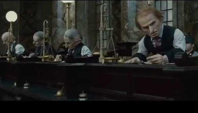 """NUEVO VIDEO. Una escena de """"Gringotts and Goblins"""", el nuevo adelanto de la película."""