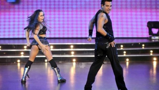 MARCELO IRIPINO, el coreógrafo ocupa el segundo lugar.