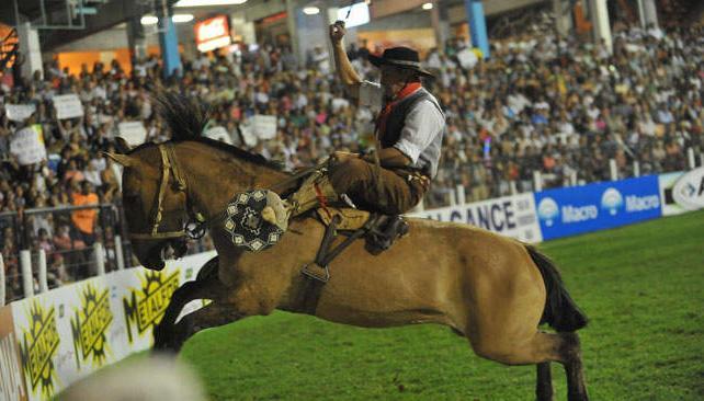 El viernes arrancó el 47º Campeonato Nacional de Jineteada (foto: Facundo Luque).