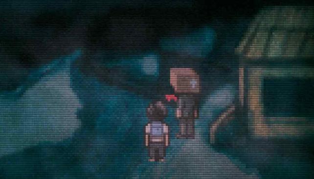 ¿El hombre cabeza de caja, es real o una alucinación?