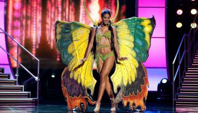 Miss Jamaica.