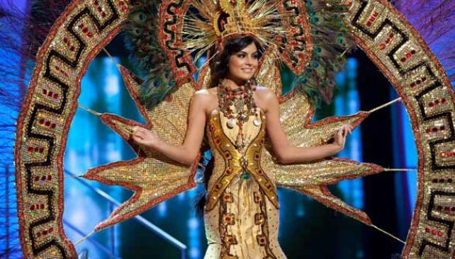 Miss México.
