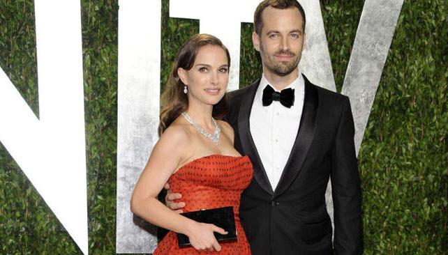 """Natalie Portman y su """"sobre negro""""."""