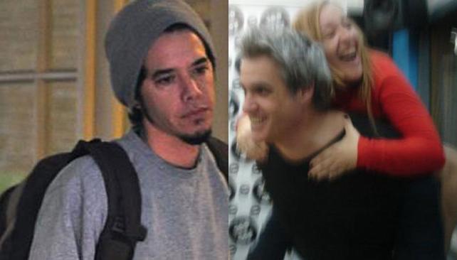 Ortega se va del país (foto de Pronto); Petti se ríe de Tinelli (foto Twitter).