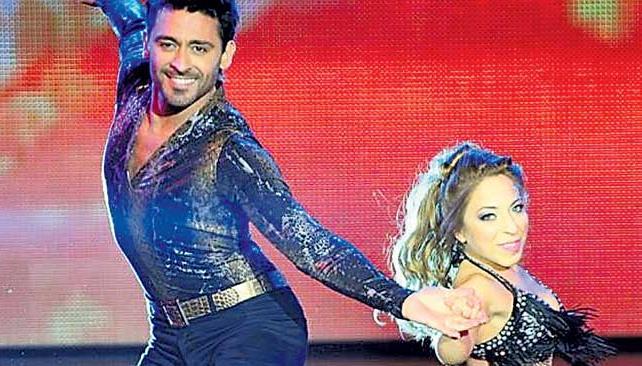 HERNÁN Y NOELIA. Hernán Piquín y su comañera Noelia vienen con buen puntaje en el show.