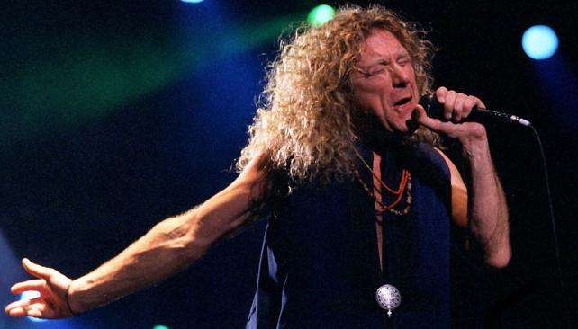 Robert Plant en su único show en Argentina: enero de 1996 en Ferro.