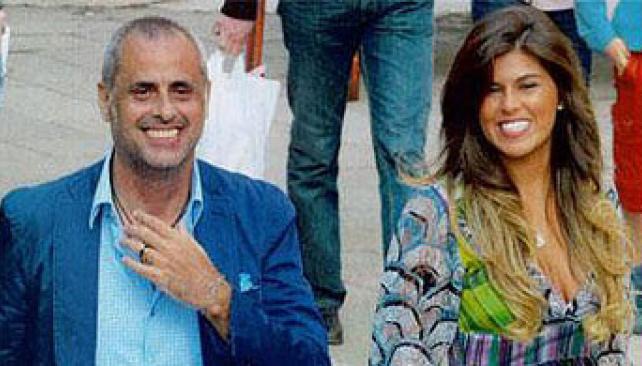 Jorge Rial y Mariana Antoniales en Italia