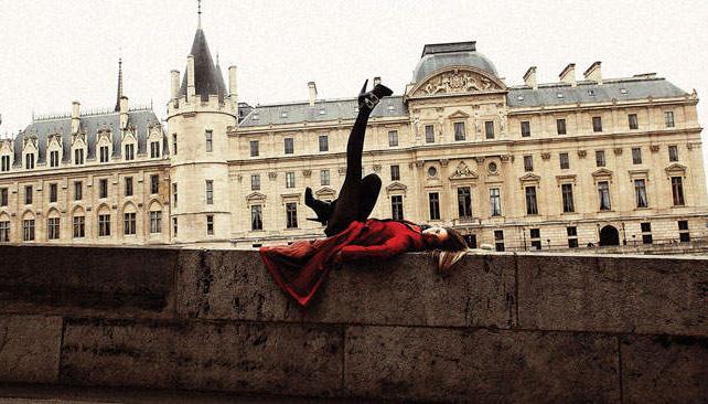 Romina Ricci en París. Fotos: DMag.