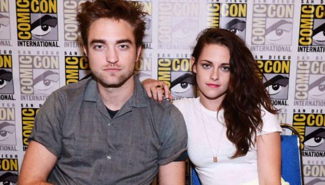 Robert Pattinson y Kristen Stewart en una de sus últimas apariciones públicas antes del escándalo.