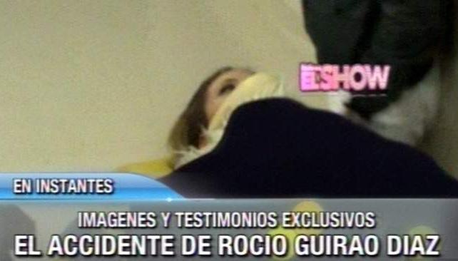 ROCIO GUIRAO DIAZ, debió ser internada nuevamente.