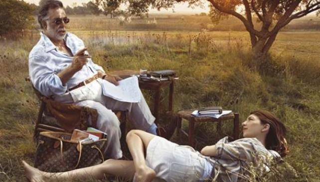 CAMPO ARGENTINO. También en 2008, Sofia Coppola era testigo del atardecer en algún campo de Buenos Aires mientras escuchaba a su padre Francis. Obra de Annie Leibovitz