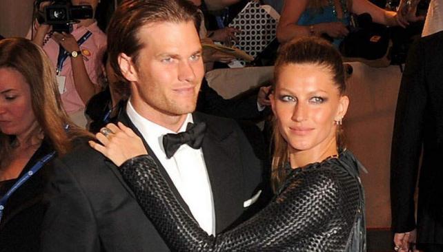 Puesto 2: Gisele Bundchen y Tom Brady