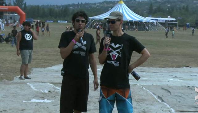 Así comenzaba el sábado la transmisión en vivo de VOS y Vorterix.