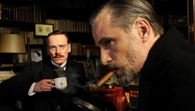 Viggo Mortensen es Freud y Michael Fassbender es Carl Jung en el filme de David Cronenberg.