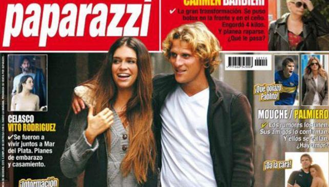 La polémica tapa de Paparazzi sobre el reencuentro de Zaira Nara y Diego Forlán.
