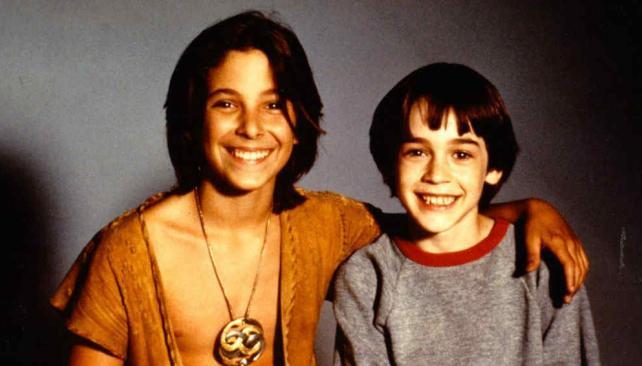 Atréyu y Bastian, protagonistas de la historia.