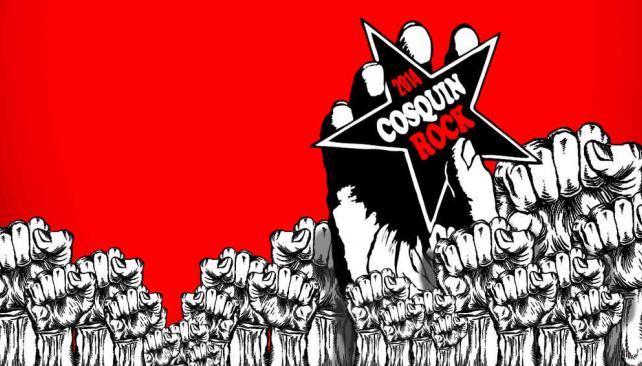 Cosquín Rock 2014 ya está en marcha. Ilustración Juan Pérez Gaudio.
