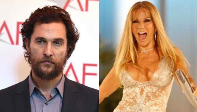 La viral reacción de Graciela Alfano al ver a Matthew McConaughey