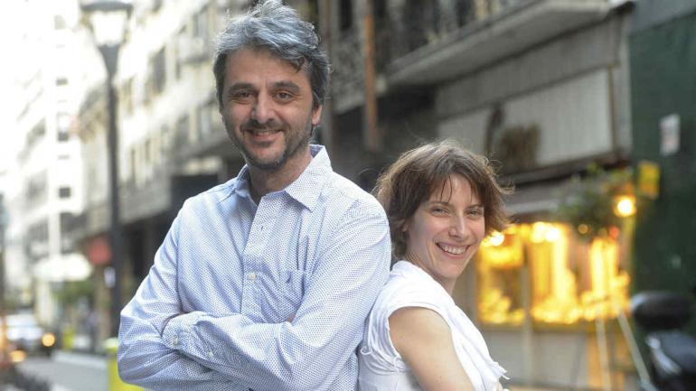 Pipi Piazzolla y Elena Roger, alta sociedad.