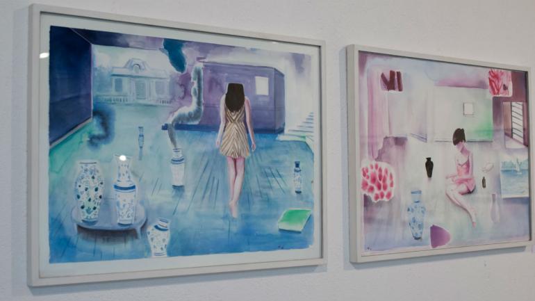 Obras de Diego Bastos (gentileza Cecilia Casenave)