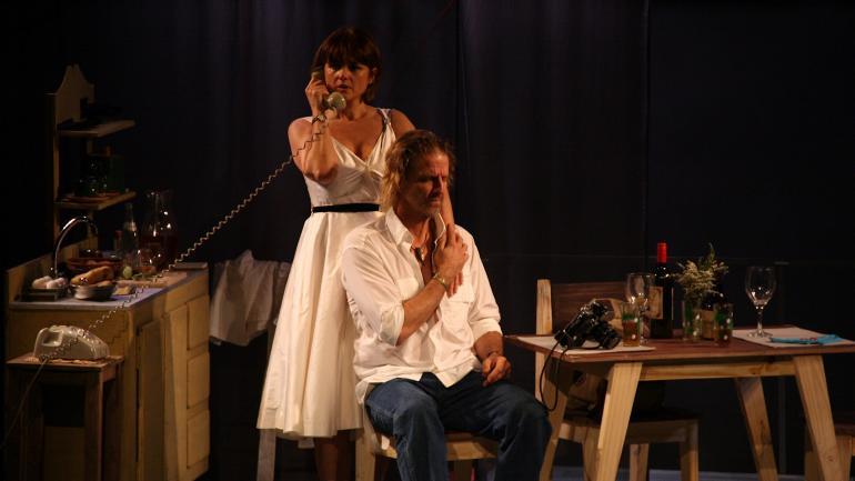 Una historia de amor. González y Arana llenaron sus funciones. (Prensa)