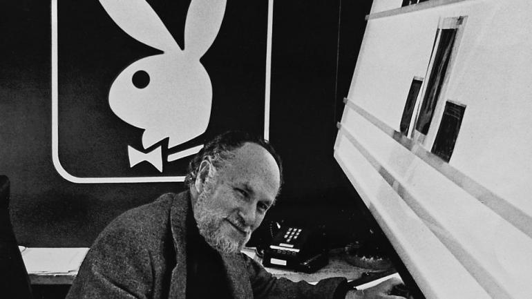 Falleció el creador del logotipo de Playboy