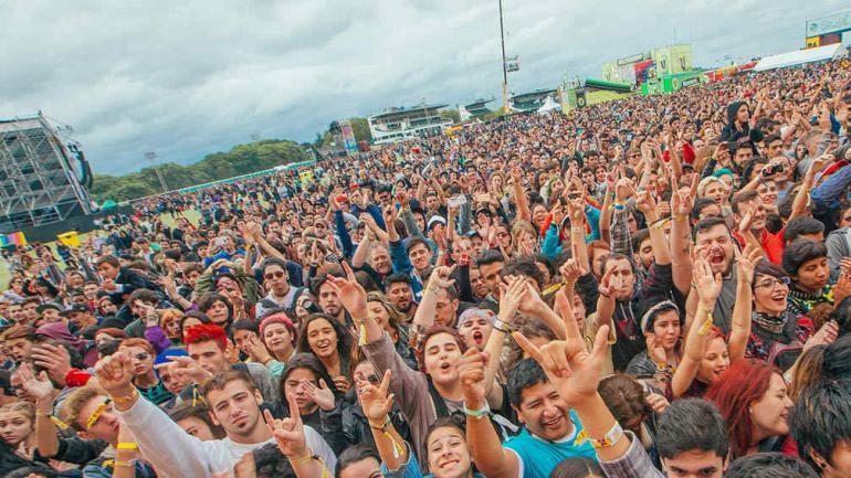 El festival convocó a 180 mil personas en sus dos jornadas. Fotos: Prensa Lollapalooza.